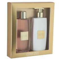 Style Gold Shower Gel & Body Lotion Set