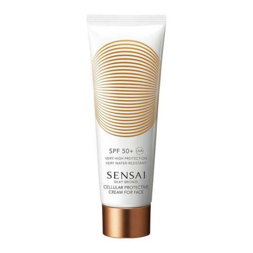 Silky Bronze Cellular Protective Cream For Face SPF 50