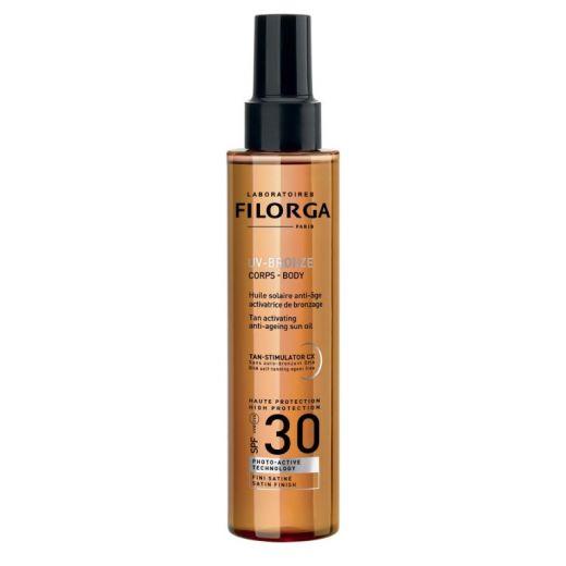 UV-Bronze Body Anti-Ageing Sun Oil SPF30