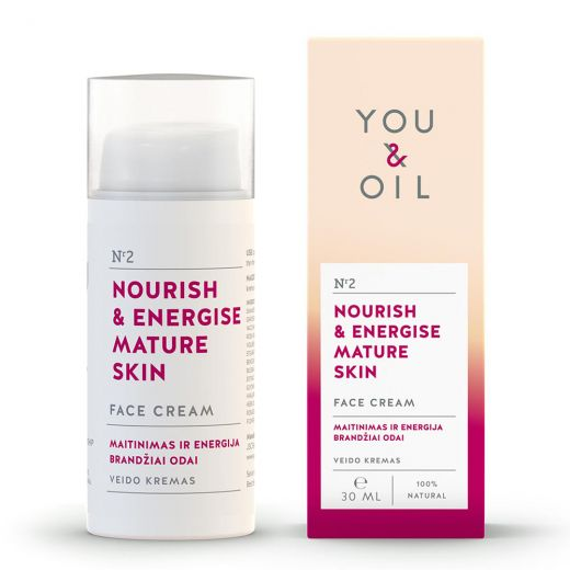 Nourish & Energise Mature Skin Face Cream
