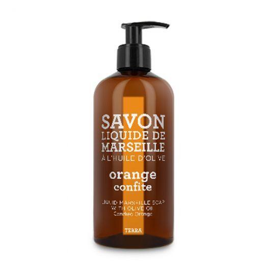 Terra Candied Orange Liquid Marseille Soap