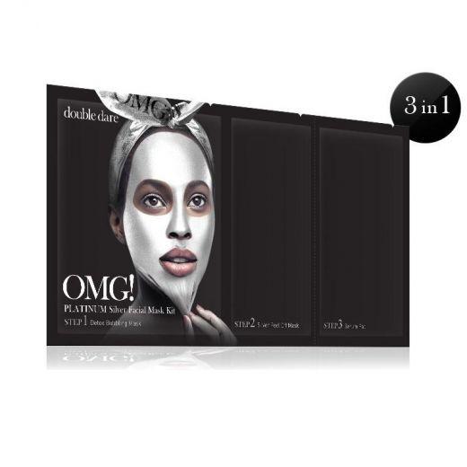 Platinum Silver Facial Mask Kit