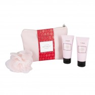 Classy Winter Bath Care Set In Medium Bag