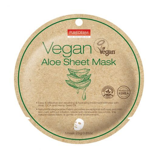 Vegan Aloe Sheet Mask