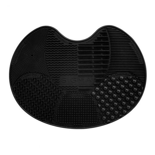 Sigma Spa® Express Brush Cleaning Mat - Black