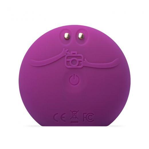 LUNA fofo Facial Cleansing Brush Purple