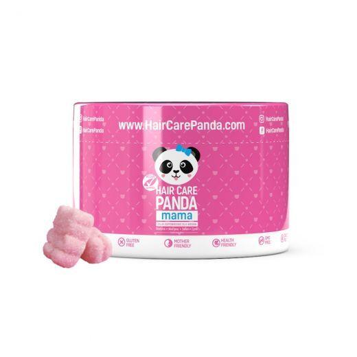 Hair care panda mama
