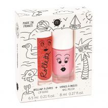 Holidays Nail Polish + Lip Gloss Set