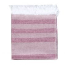 Hamam Towel Rose Stripes