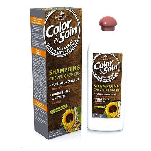 Color Soin šampūnas tamsiems dažytiems plaukams