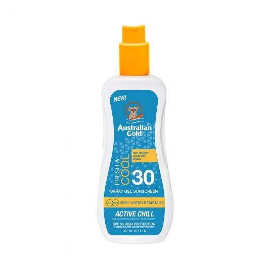 Active Chill SPF 30 Spray Gel