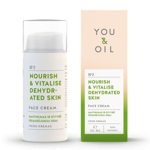 Nourish & Vitalise Dehydrated Skin Face Cream