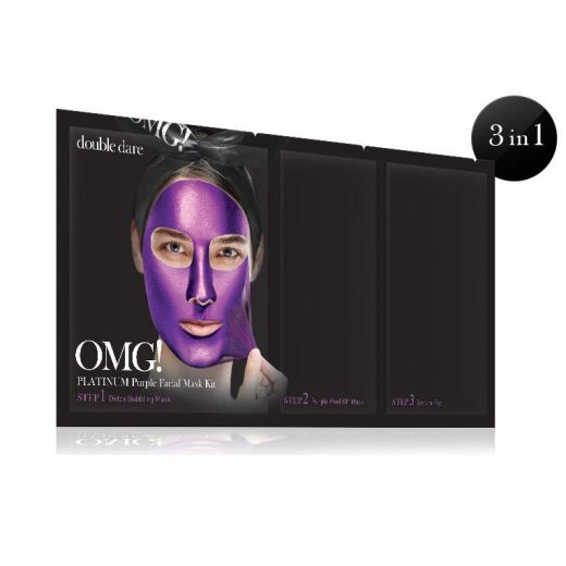 Platinum Purple Facial Mask Kit