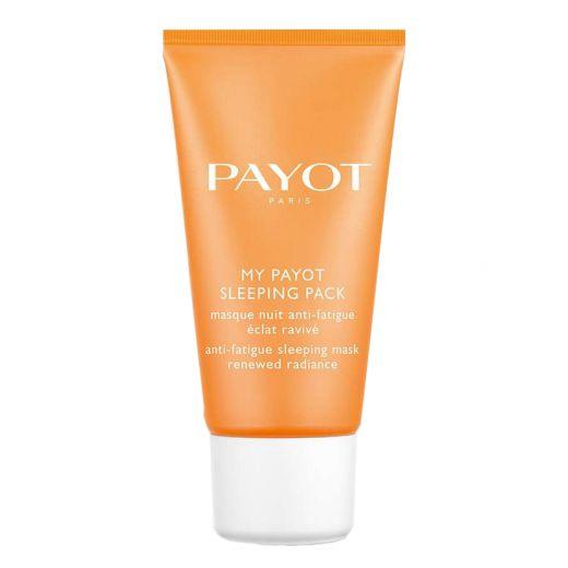 Švytėjimo suteikianti naktinė veido kaukė Payot