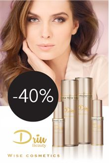 -40% DRIU BEAUTY serumams ir tonikams Wise Beauty
