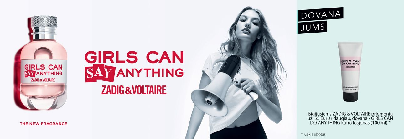 Naujiena -  ZADIG & VOLTAIRE Girls Can Say Anything