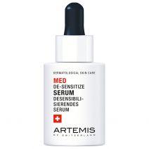 Jautrumą ir paraudimą mažinantis veido serumas Artemis