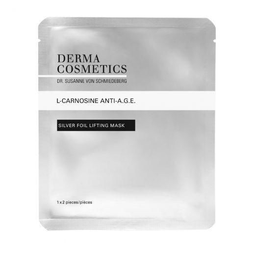 L-Carnosine Anti-A.G.E. Silver Foil Lifting Mask