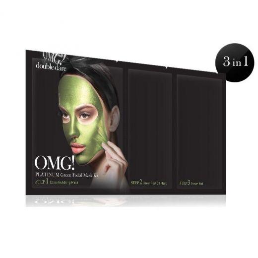 Platinum Green Facial Mask Kit