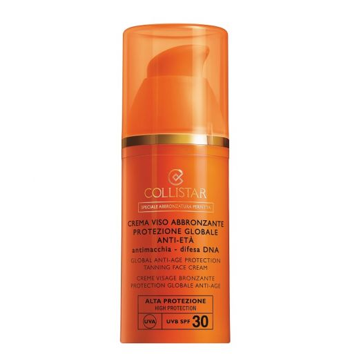 Anti-Age Protection Tanning Face Cream  SPF30