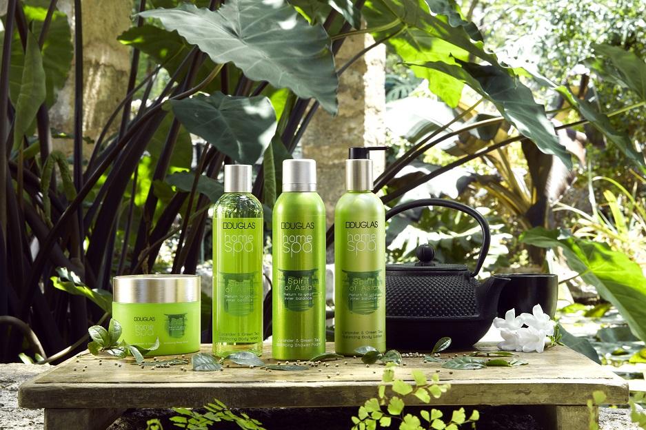 Spirit Of Asia linijos produktai ir pagrindiniai ingredientai