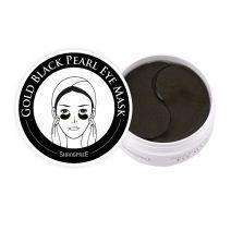 Gold Black Pearl Eye Mask