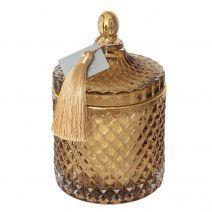 Gintarinė žvakė - įkvėpta Oud Wood