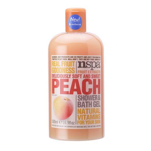 Peach Shower Bath Gel