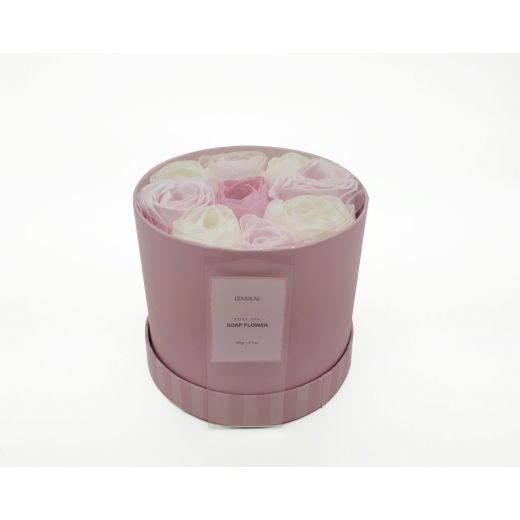 Rosy SPA-Soap Flowers Set