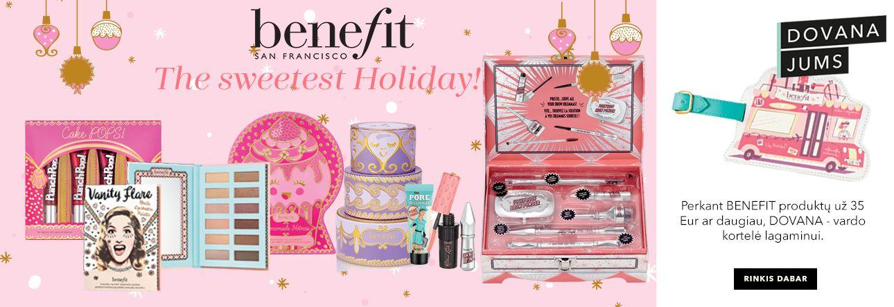 BENEFIT sweetest holidays