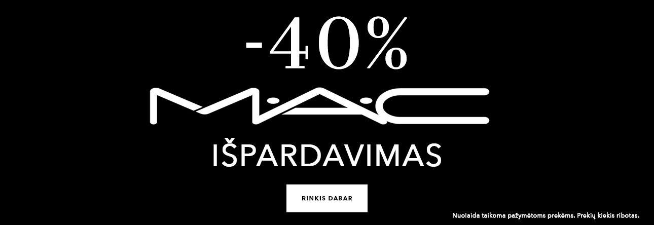 MAC išpardavimas