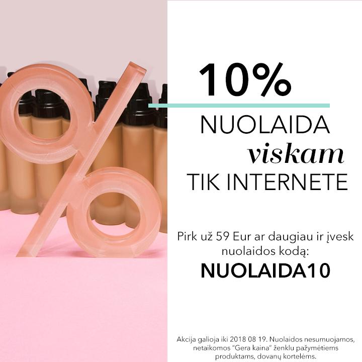 Nuolaidos kodas: NUOLAIDA10
