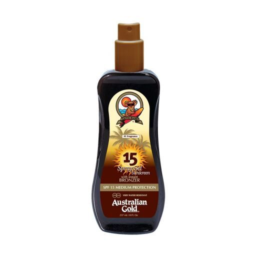 Spray Gel With Instant Bronzer SPF 15