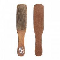 Men's Detangler Hair Brush - Brown Leather