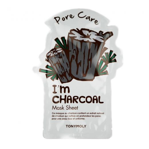 I Am Real Charcoal Mask Sheet