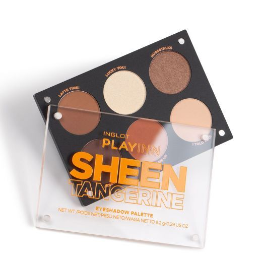 Sheen Tangerine. Eye Shadow Palette