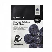 Charcoal Solution Black Mask