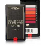 Ilgai išliekančių lūpų dažų paletė L'Oreal Paris