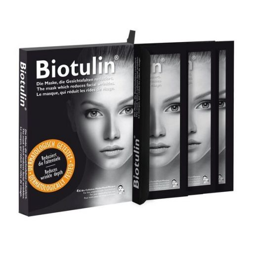 Jauninamoji bioceliuliozinė veido kaukė 4vnt.