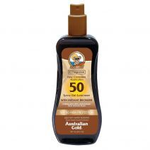 Spray Gel Sunscreen With Instant Bronzer SPF50