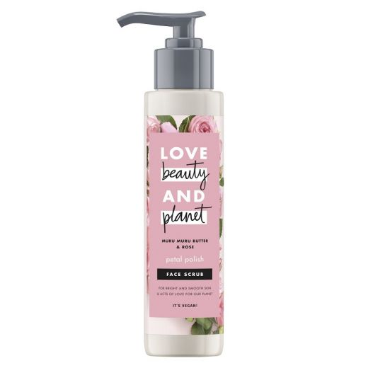 Petal Polish Face Scrub