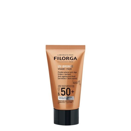 UV-Bronze Face Anti-Ageing Sun Fluid SPF50+