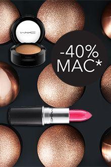 MAC -40% išpardavimas
