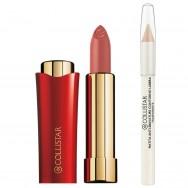 Lūpų dažai + bespalvis lūpų pieštukas Collistar