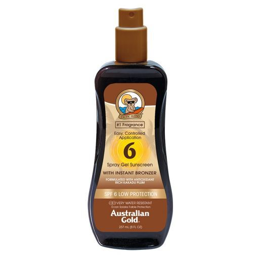 Spray Gel With Instant Bronzer SPF 6
