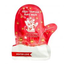 Winter Love Finger Gloves Hand Mask Rose and Vanilla Extract
