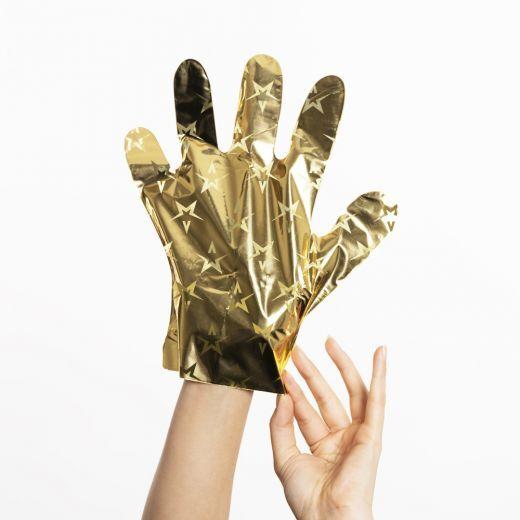 The Gold Mask™ Hand Revitalizing Luxury Foil Mask Gloves