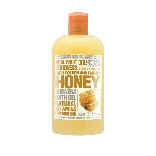 Honey Shower Bath Gel