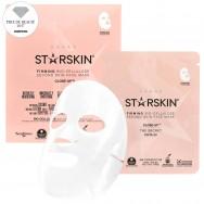 Stangrinamoji kokosų ir bio-celiuliozės pagrindo veido kaukė Starskin