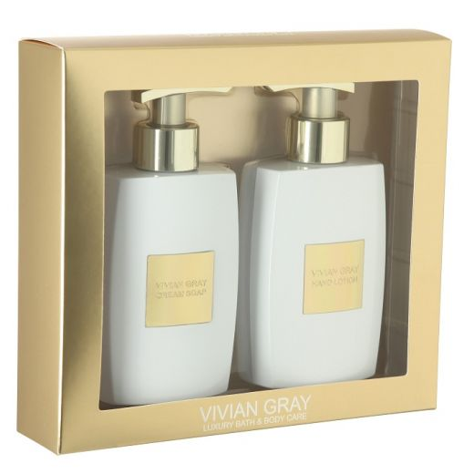 Style Gold Cream Soap & Hand Lotion Set